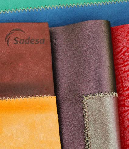 Beautiful Sadesa leathers